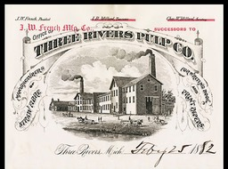 J. W. French Manufacturing Company, successors to The Three Rivers Pulp Company