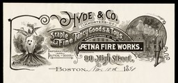 Hyde & Company / Aetna Fire Works