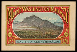 Mount Washington (New Hampshire) Railway / Walter Aiken