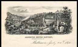 Alberton Cotton Factory, Baltimore, Maryland