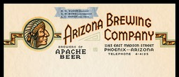 Arizona Brewing Company / Apache Beer