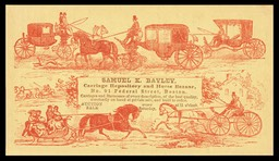 Samuel K. Bayley Carriage Repository and Horse Bazaar