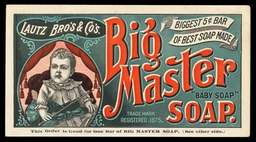 Lautz Brothers & Company / Big Master Soap