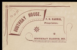 F. H. Harris / Boothbay House