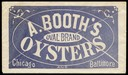 A. Booth / Oval Brand Oysters