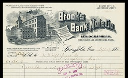 Brooks Bank Note Company