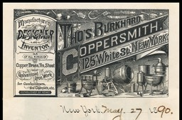 Thomas Burkhard, Coppersmith