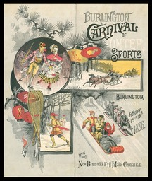 Burlington Carnival of Winter Sports, 1886