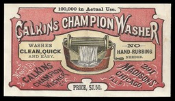 Calkins Champion Washer Company