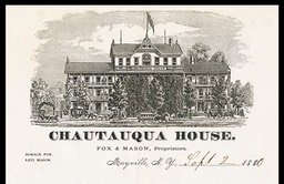 Fox & Mason / Chautauqua House