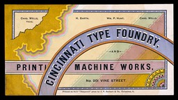 Cincinnati Type Foundry and Printing Machine Works