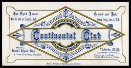 Continental Club Concert and Ball