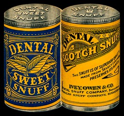 Ivey, Owen & Company / Dental Snuff