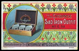 The Enterprise Manufacturing Company of Pennsylvania / The Enterprise Sad Iron Outfit