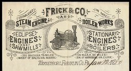 Frick & Company Steam Engine and Boiler Works