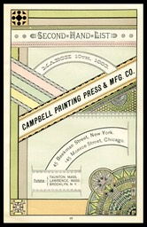 Campbell Printing Press & Manufacturing Company