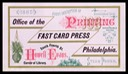 Howell & Evans / The Fast Card Press