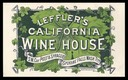 Leffler's California Wine House