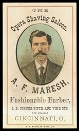 A. F. Maresh / The Opera Shaving Saloon
