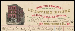 Missouri Democrat Printing House