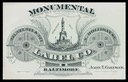 Monumental Label Company / John T. Coleman