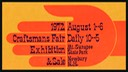 New Hampshire Craftsmans Fair 1972