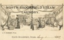 J. P. Ranger / North Brookfield (MA) Steam Laundry
