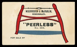 Woodrough & McParlin / Peerless No. 350 Bucksaw