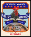 7th World's Poultry Congress, 1939