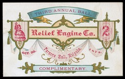 Third Annual Ball / Relief Engine Company No.2