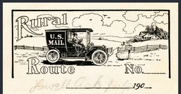 U. S. Mail / Rural Route