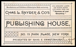 Charles L. Snyder & Company's Publishing House