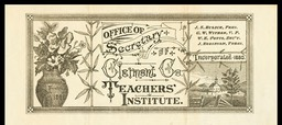 Office of the Secretary of the Clermont County Teachers Institute