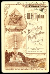 "W. H. Tipton, ""The Battlefield Photographer"""