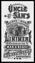 Uncle Sam's Nerve and Bone Liniment
