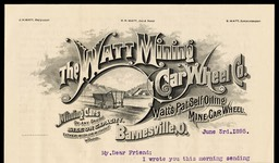 Watt Mining Car Wheel Company