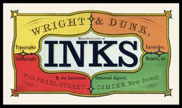 Wright & Dunk Inks