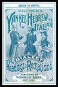 Wehman Brothers / Cooper's Yankee, Hebrew and Italian Dialect Readings and Recitations