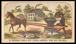 "E. Whitman, Sons & Company / ""YoungAmerica"" Corn and Cob Mill"