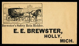 E. E. Brewster / Brewster's Safety Rein Holder