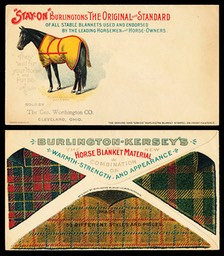 Burlington Blanket Company / Burlington-Kersey's Horse Blanket Material