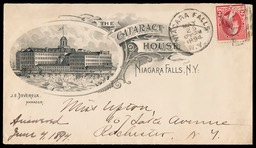 The Cataract House, Niagara Falls / J. E. Devereux, Mgr.