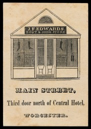 J. F. Edwards / Boot & Shoe Store