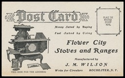 J. M. Wilson / Flower City Stoves and Ranges