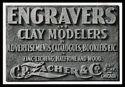C. P. Lacher & Company / Engravers and Clay Modelers