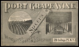 Speer's Port Grape Wine