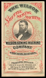 Wilson Sewing Machine Company / Wilson Shuttle Sewing Machine